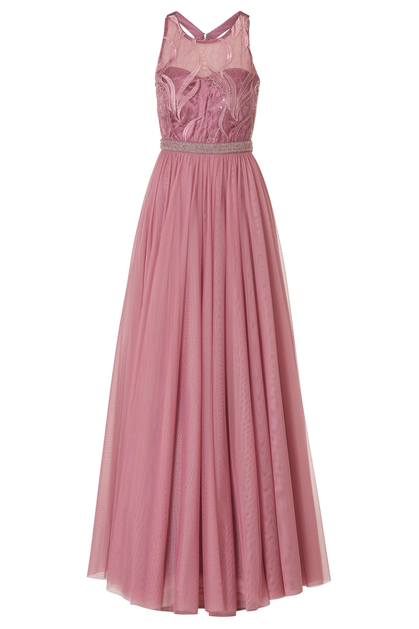 Wunderbar Abendkleid Altrosa Vertrieb17 Spektakulär Abendkleid Altrosa Design