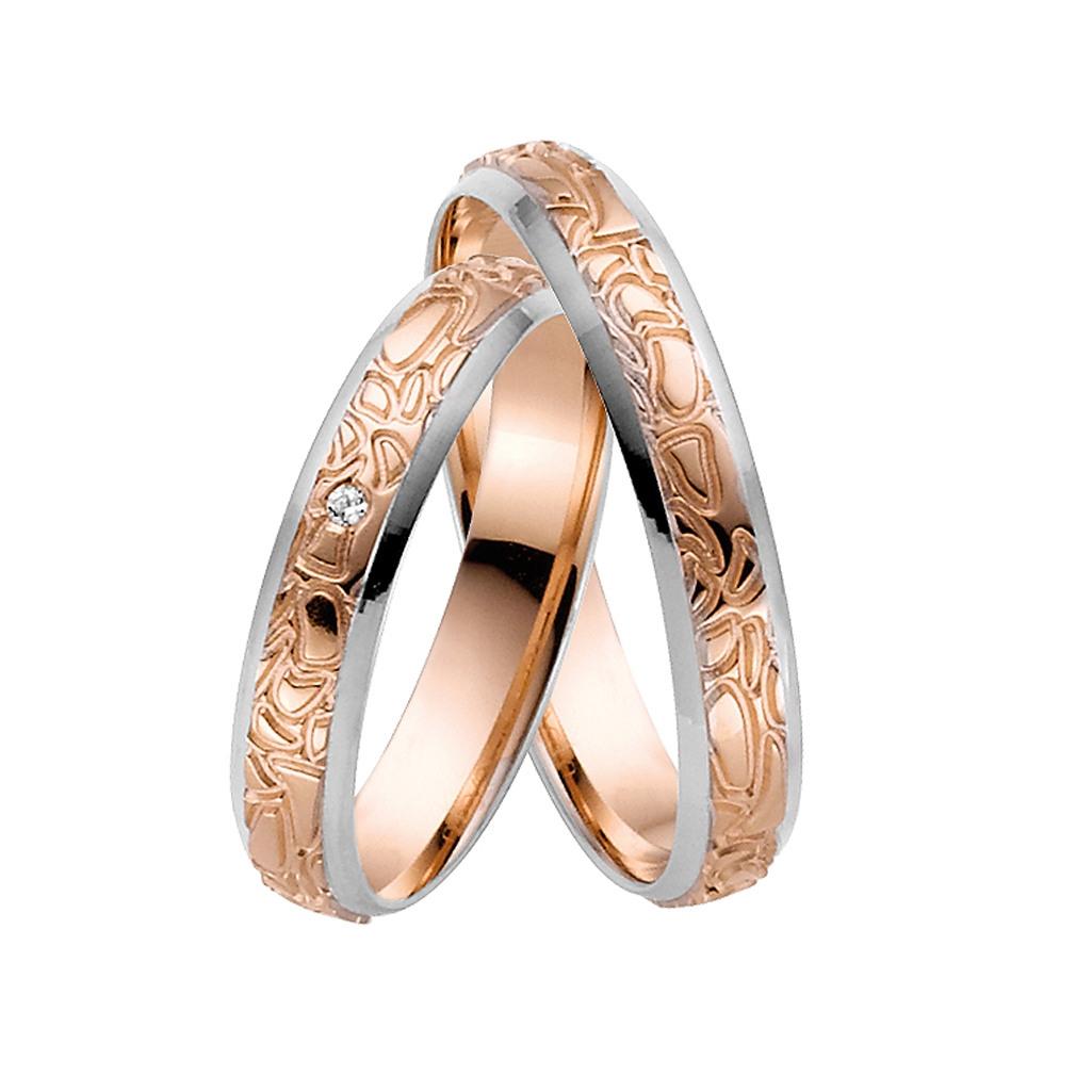 Bicolor Hochzeitsringe Mytrauring 50676 - Rauschmayer