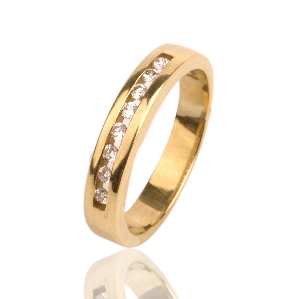 Christ Band Verlobungsring 14 Kt. Gold Ehering 585Er Gelbgold Damen Ring  Marken | Ebay