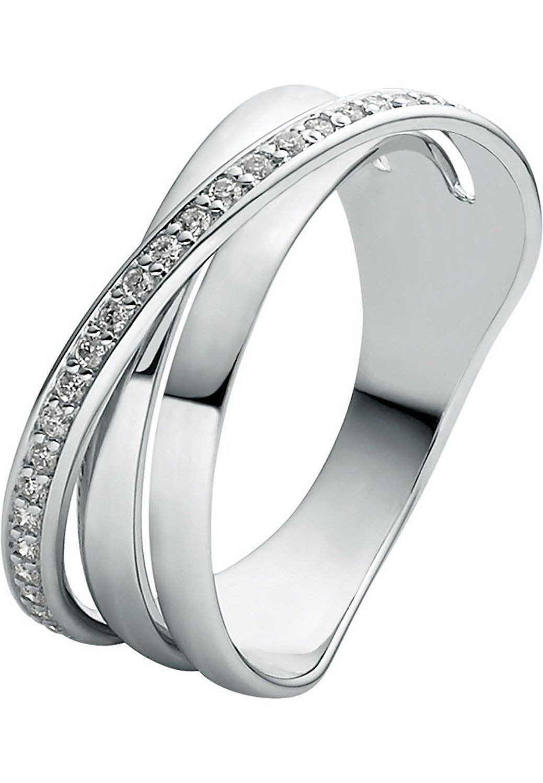 Christ Diamonds Damen-Ring 585Er Weißgold 30 Brillanten Zus