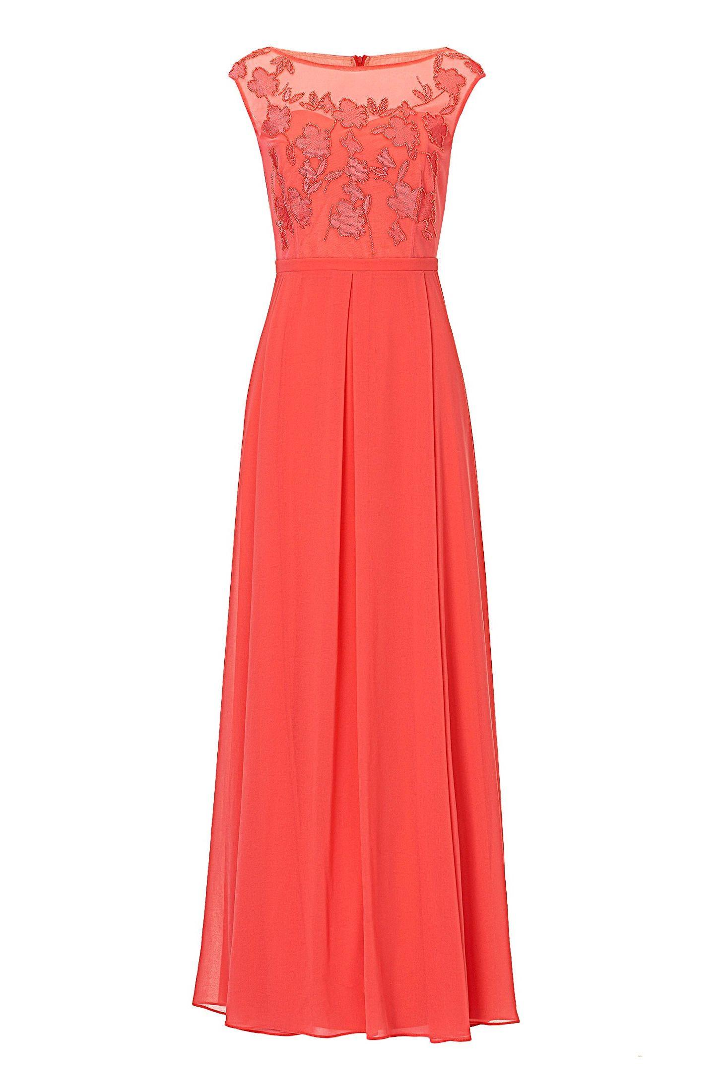 Designer Cool Abendkleid Koralle Galerie13 Erstaunlich Abendkleid Koralle Ärmel