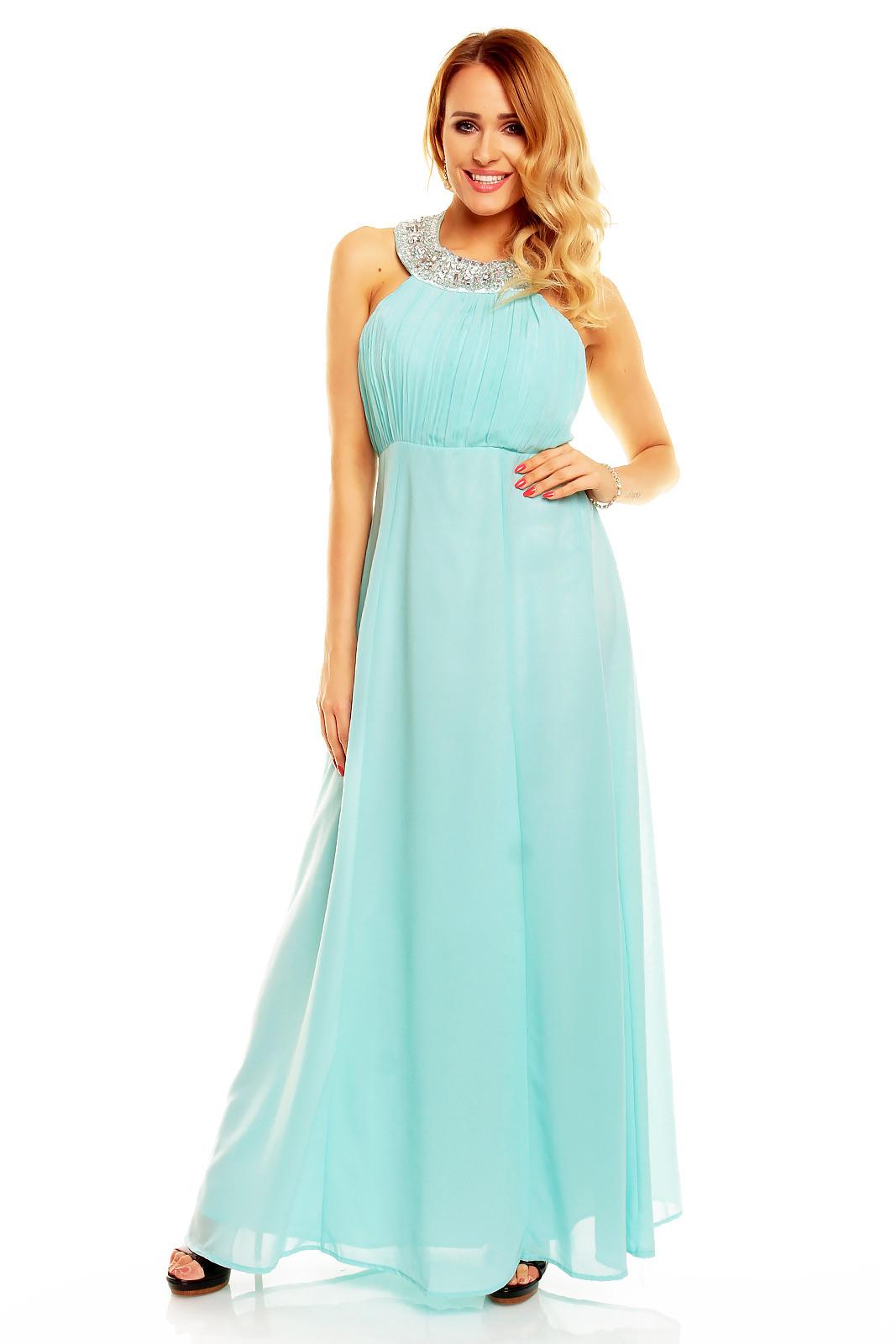 Designer Perfekt Kleid Lang Mint StylishDesigner Fantastisch Kleid Lang Mint Boutique