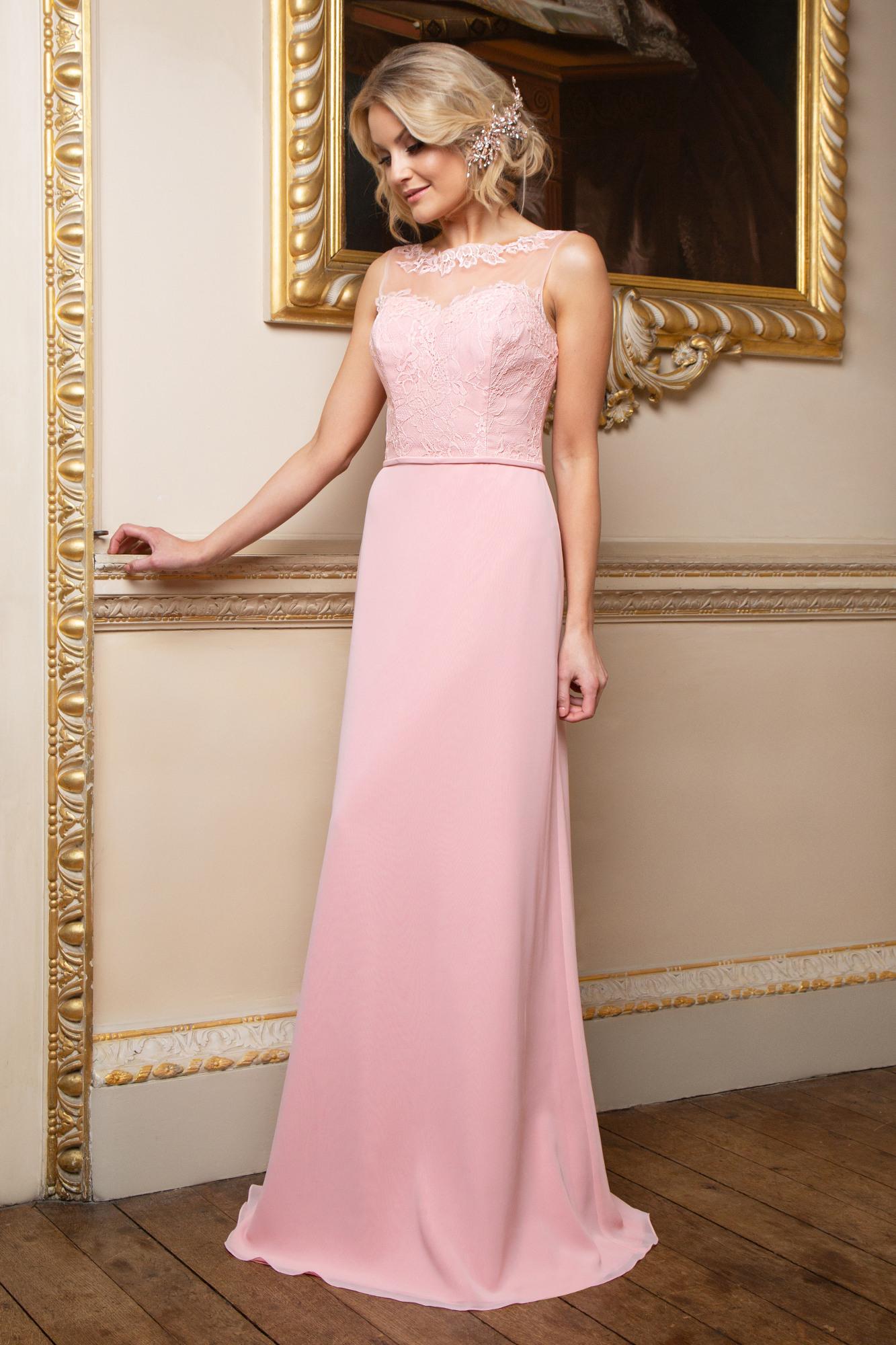 Abend Einfach Abend Kleid Lang Rosa für 201920 Fantastisch Abend Kleid Lang Rosa Stylish