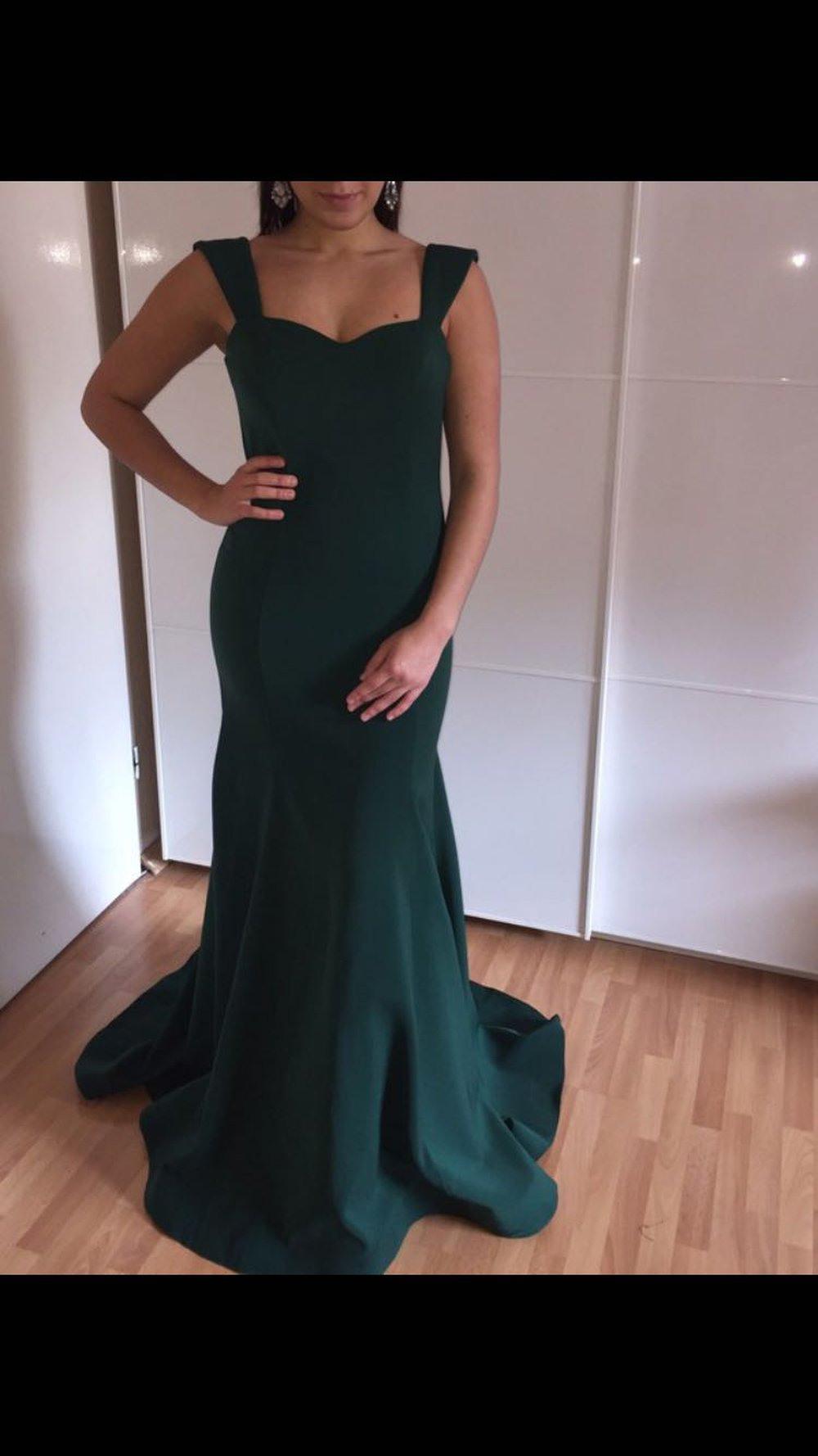 Formal Spektakulär Dunkelgrünes Abendkleid VertriebDesigner Einfach Dunkelgrünes Abendkleid Ärmel