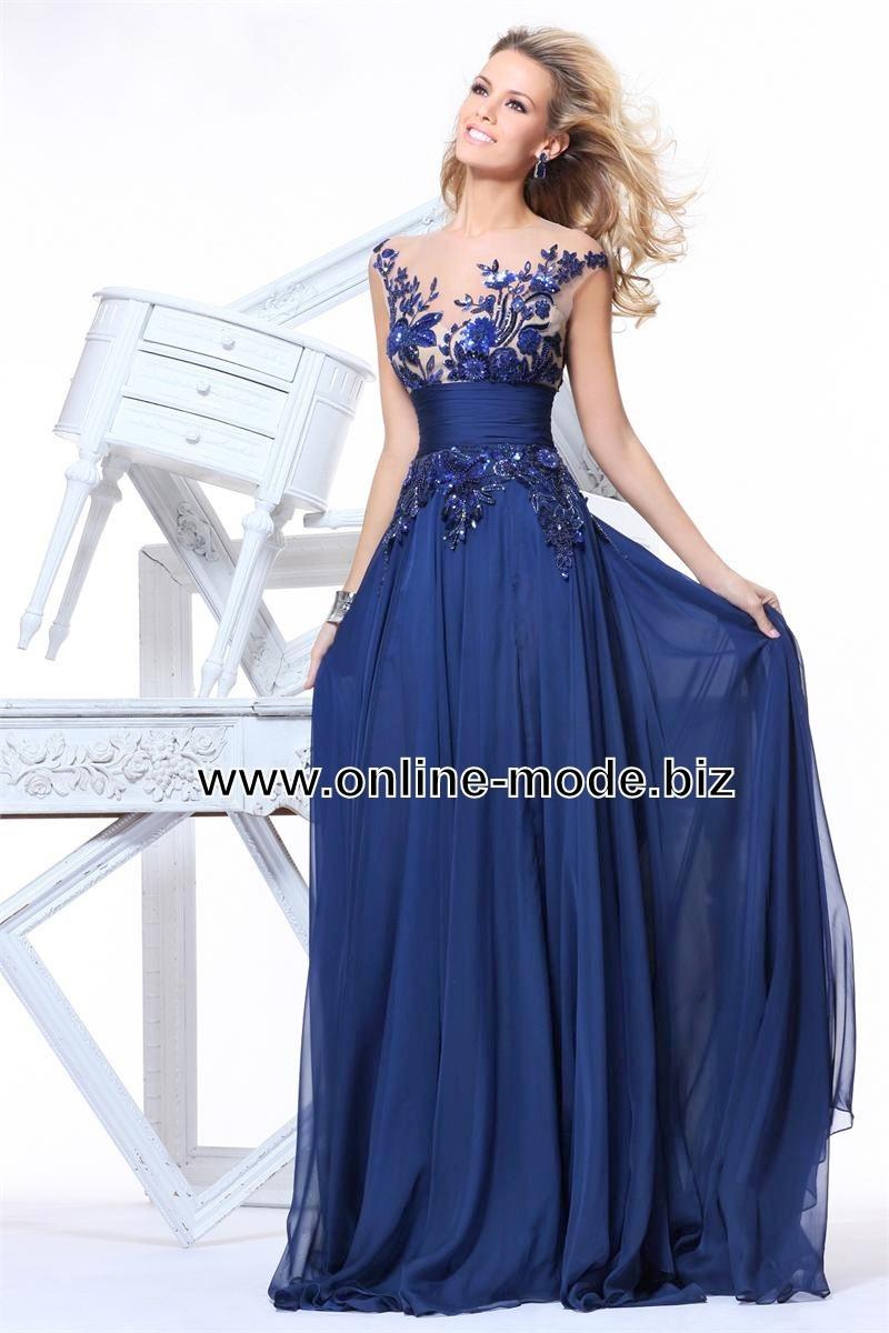 20 Schön Blaues Abendkleid ÄrmelDesigner Erstaunlich Blaues Abendkleid Galerie