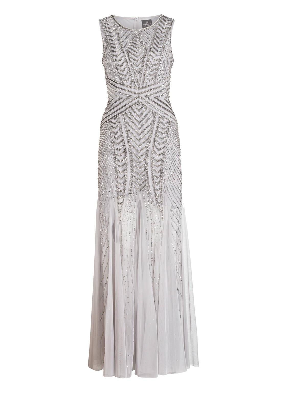 10 Genial Silber Abend Kleid Design Leicht Silber Abend Kleid Vertrieb