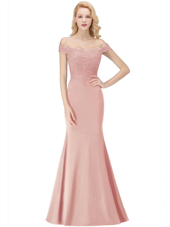 Designer Luxurius Abendkleid Carmen Ausschnitt Lang Design20 Einzigartig Abendkleid Carmen Ausschnitt Lang für 2019