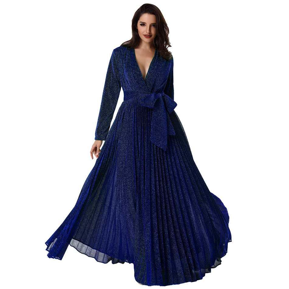 10 Erstaunlich Kleid Blau Lang Galerie10 Elegant Kleid Blau Lang Ärmel