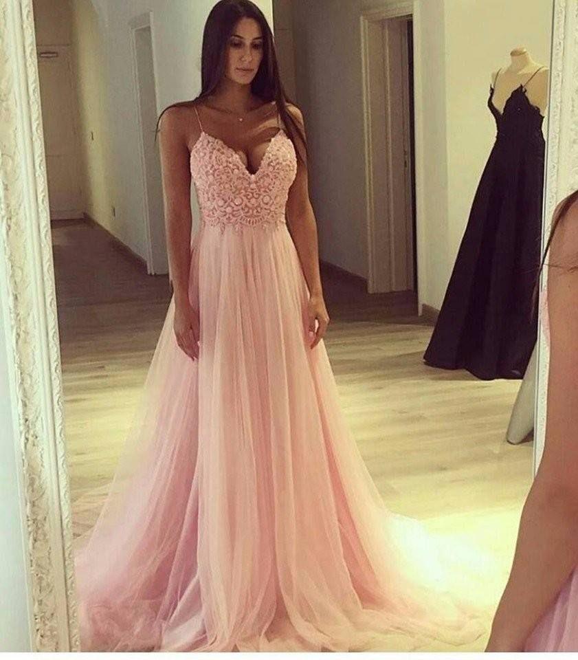 20 Fantastisch Kleid Lang Rosa für 2019Formal Einfach Kleid Lang Rosa Design