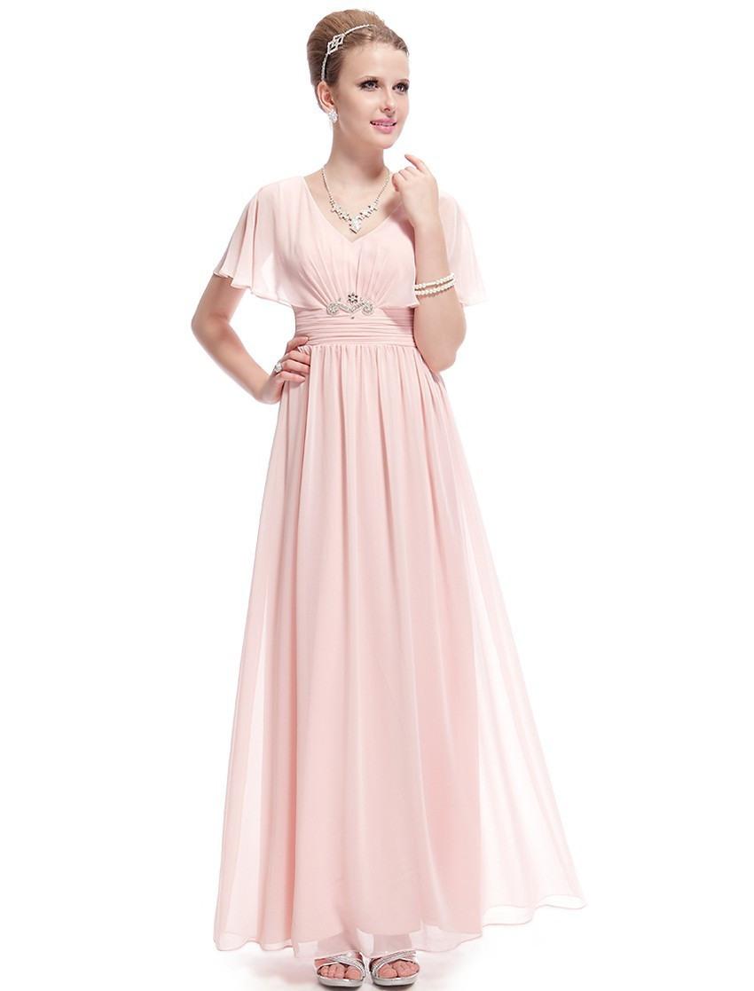 Designer Genial Rosa Kleid Mit Ärmeln Design10 Einfach Rosa Kleid Mit Ärmeln Ärmel