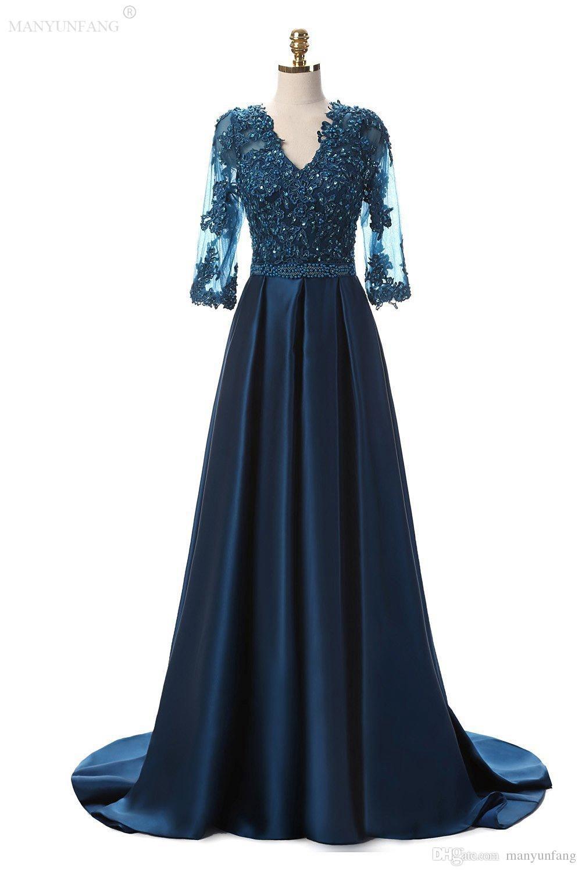 Ausgezeichnet Kleid Blau Lang ÄrmelDesigner Genial Kleid Blau Lang Design