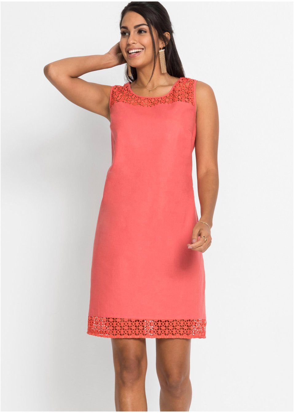 10 Erstaunlich Kleid Koralle Spitze Ärmel10 Wunderbar Kleid Koralle Spitze Galerie