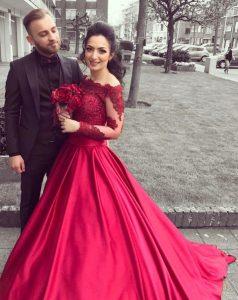 Genial Rotes Kleid Henna Abend GalerieAbend Einzigartig Rotes Kleid Henna Abend für 2019