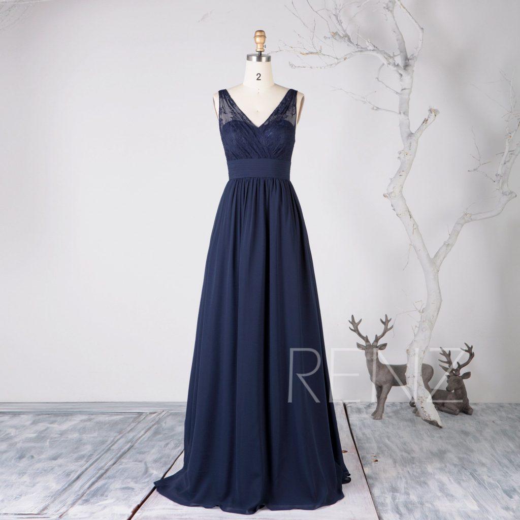 Designer Leicht Kleid Hochzeit Blau Ärmel - Abendkleid