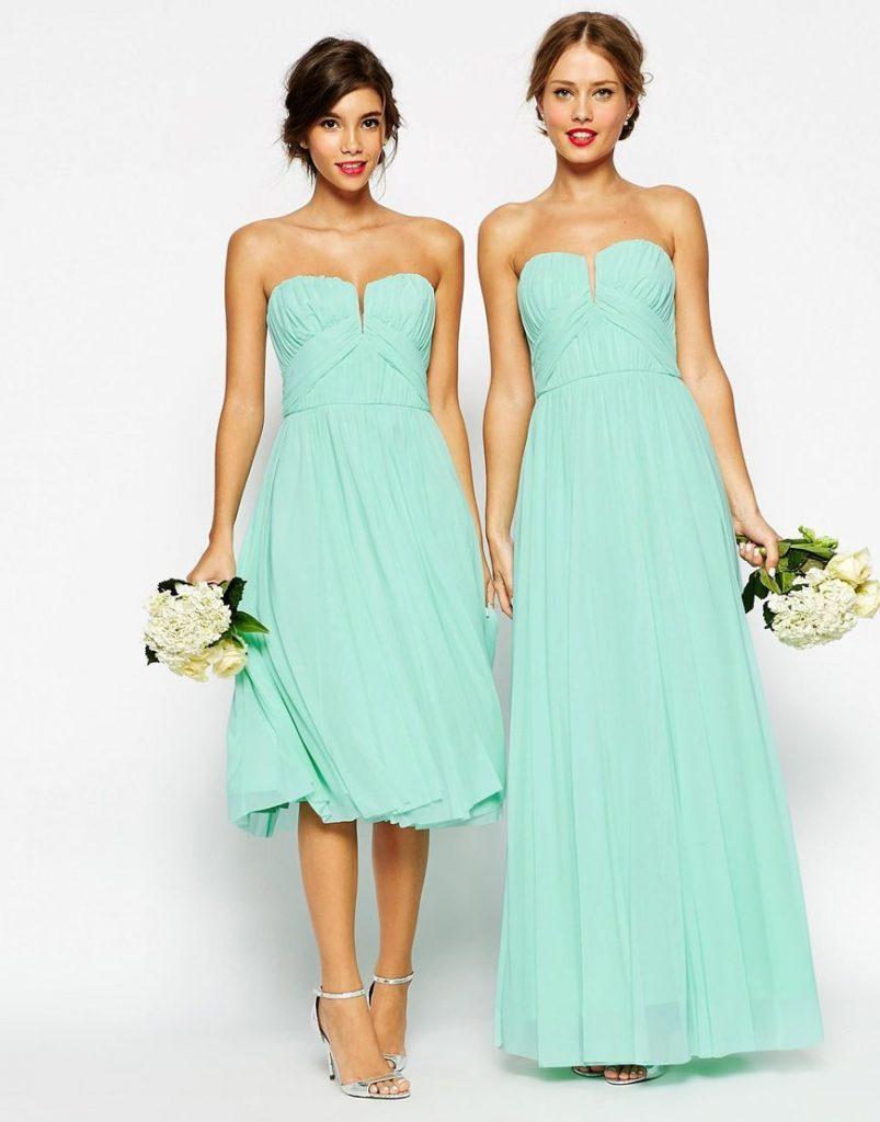 Designer Leicht Kleid Mintgrün Hochzeit Spezialgebiet - Abendkleid