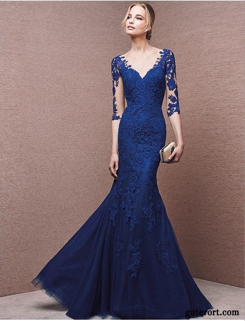 10 Großartig Langes Abendkleid Dunkelblau ÄrmelFormal Wunderbar Langes Abendkleid Dunkelblau Vertrieb