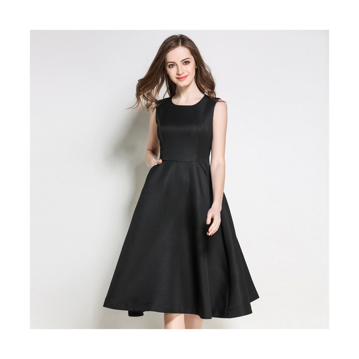 Abend Einfach Schwarzes Ärmelloses Kleid Bester Preis17 Einfach Schwarzes Ärmelloses Kleid Boutique