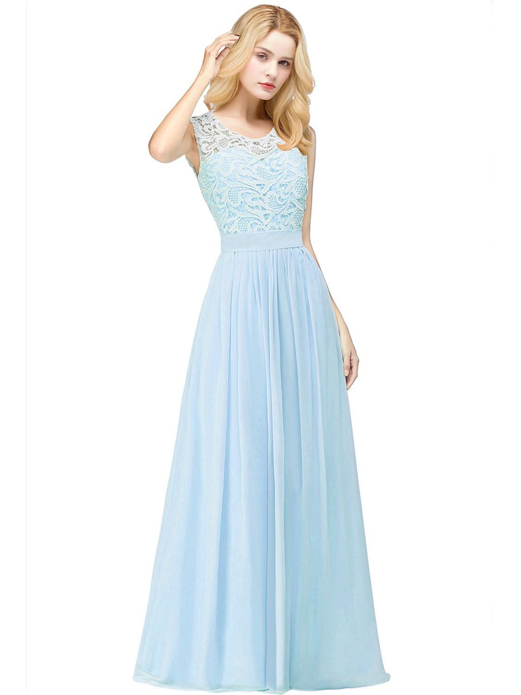 20 Luxus Abendkleid Hellblau Lang BoutiqueAbend Fantastisch Abendkleid Hellblau Lang Design