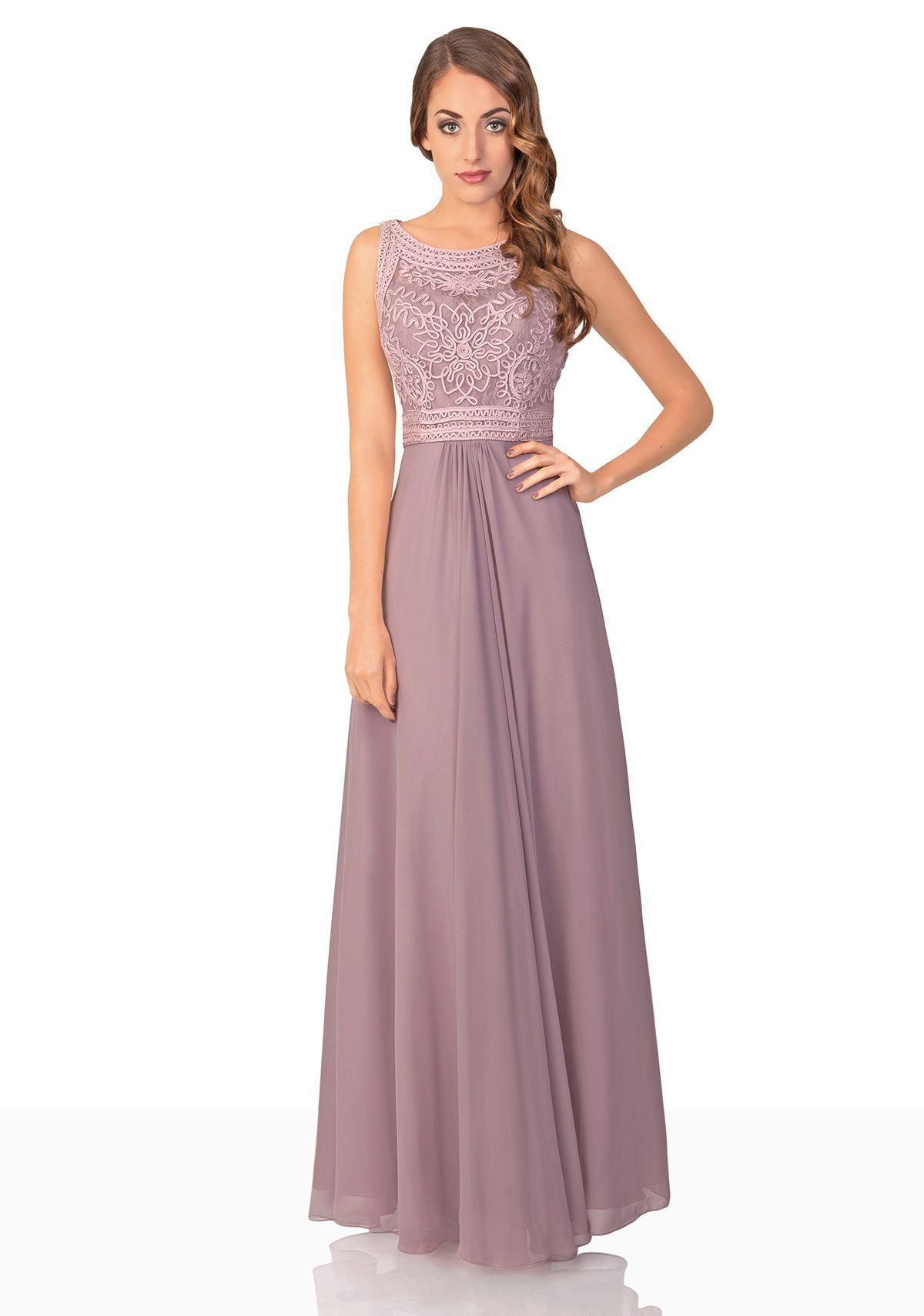 Formal Luxurius Abendkleid In Altrosa BoutiqueAbend Kreativ Abendkleid In Altrosa Boutique