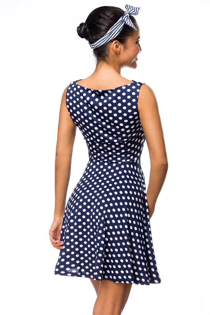 Designer Kreativ Blaues Kleid Mit Punkten DesignDesigner Schön Blaues Kleid Mit Punkten Ärmel