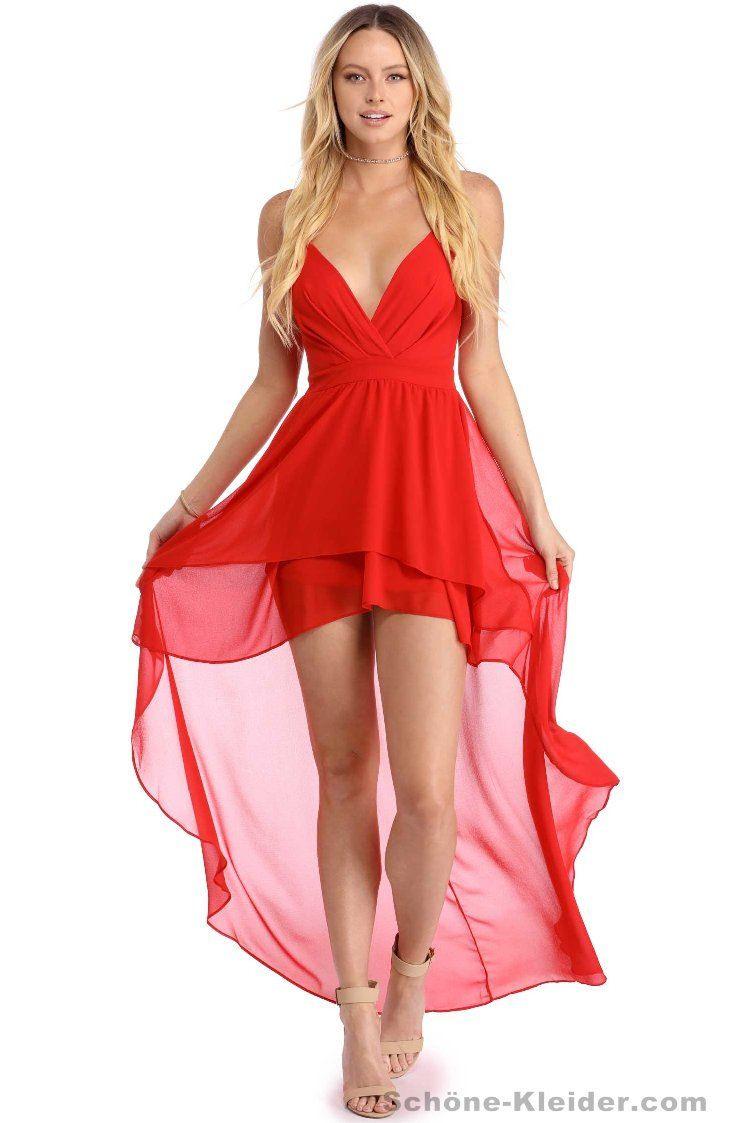 Abend Kreativ Rotes Abendkleid Kurz ÄrmelAbend Ausgezeichnet Rotes Abendkleid Kurz Galerie