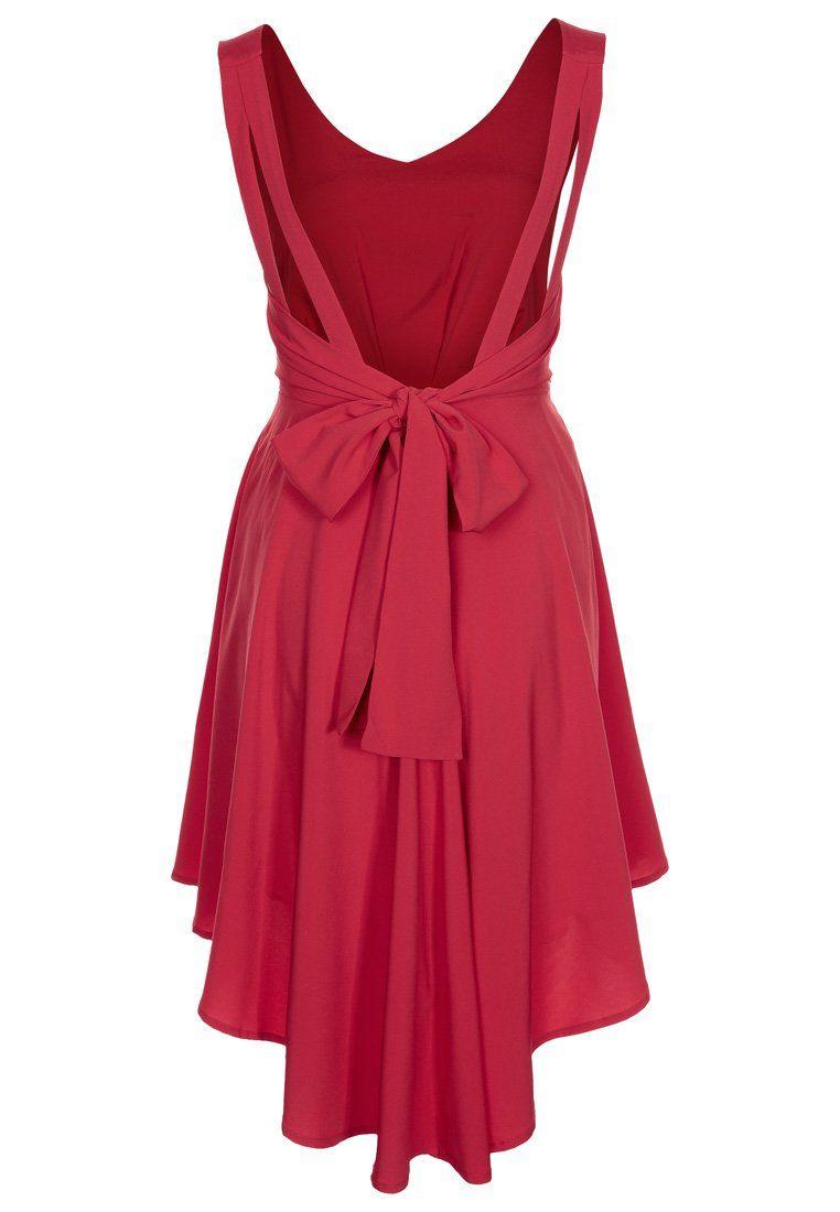 Formal Erstaunlich Rotes Kleid Kurz Stylish13 Ausgezeichnet Rotes Kleid Kurz für 2019