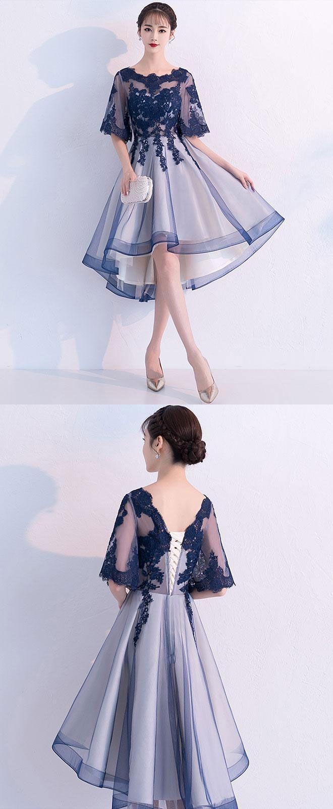 Abend Schön Kurzes Blaues Kleid für 201917 Leicht Kurzes Blaues Kleid Boutique