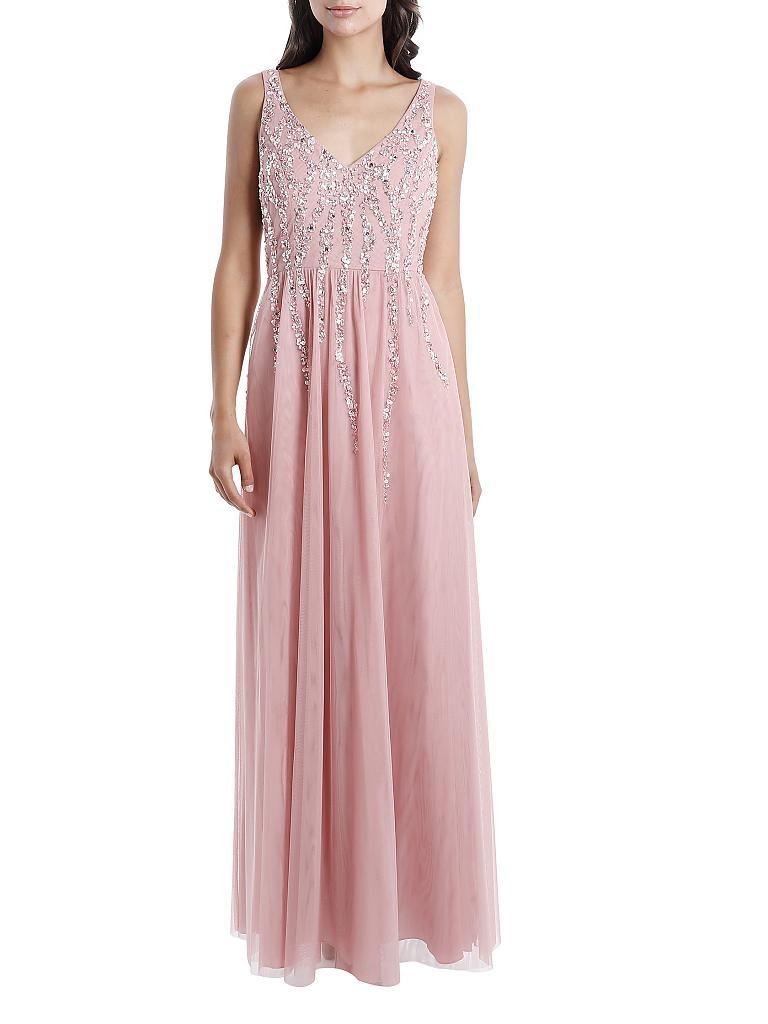 Abend Kreativ Abend Kleid Rose SpezialgebietDesigner Elegant Abend Kleid Rose Ärmel