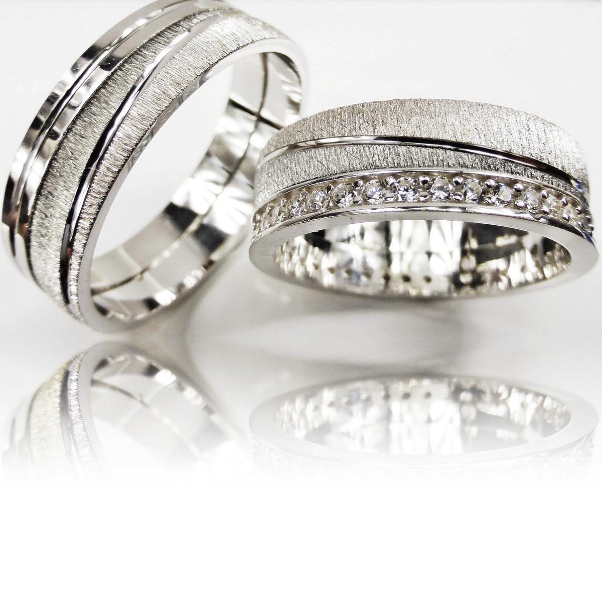 Details Zu 2 Trauringe 925 Silber Gravur Eheringe Verlobungsringe  Partnerringe 3311-S