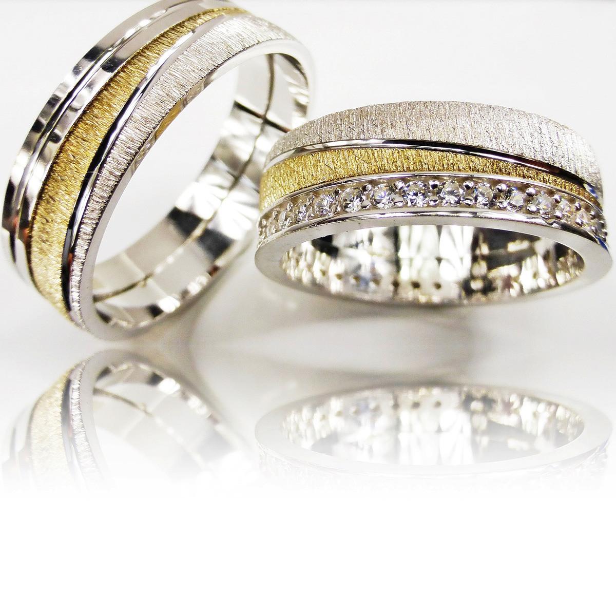 Details Zu 2 Trauringe 925 Silber Gravur + Etui Eheringe Verlobungsringe  Partnerringe 3311
