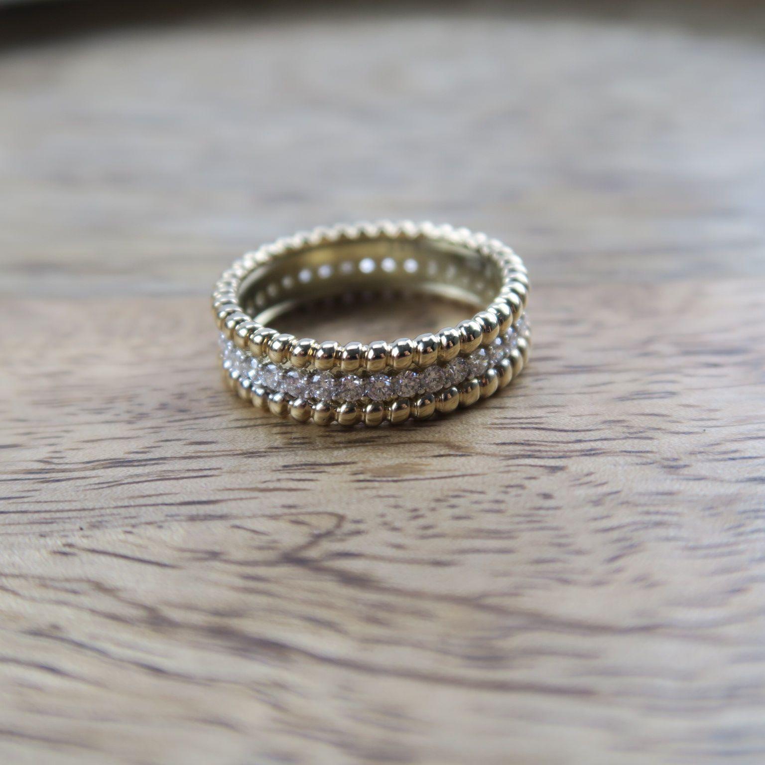 Diamonds Damenring | Damen Ring, Diamantring Und 585 Weißgold