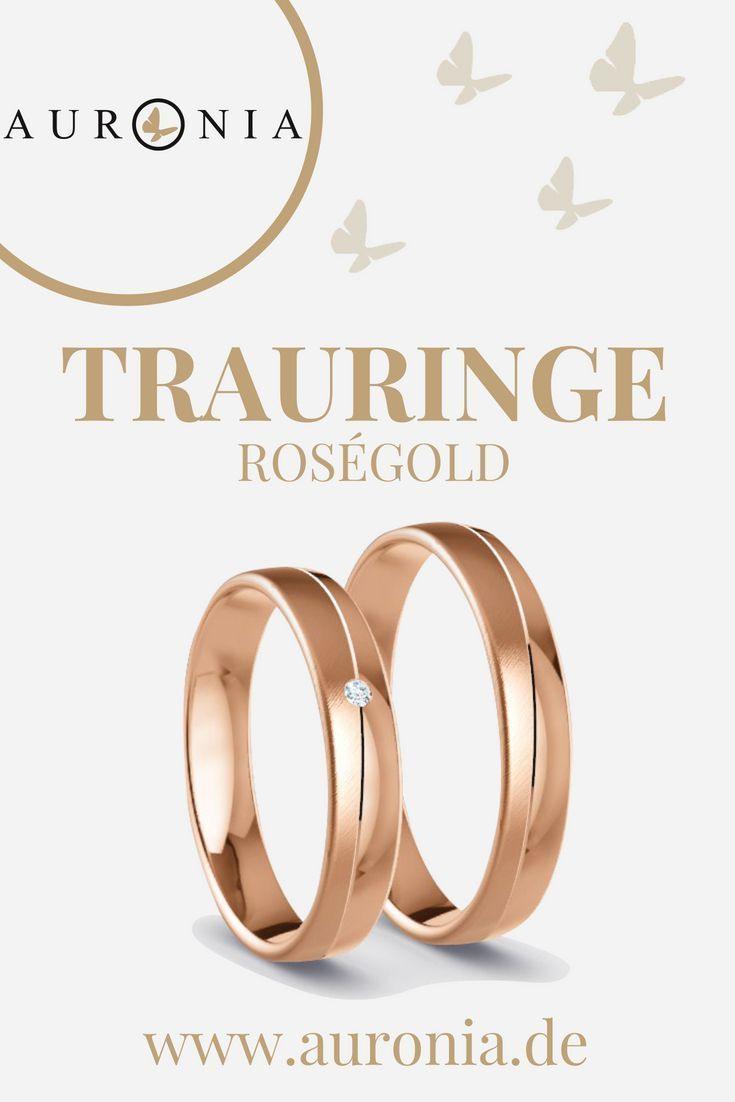 Die 169 Besten Bilder Von Trauringe - Roségold In 2020
