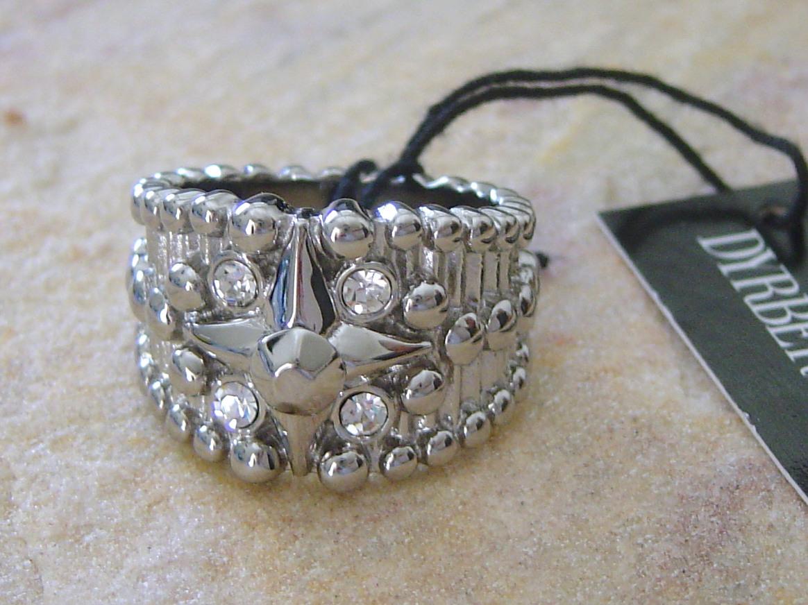 Dyrberg Kern Ring Satoria Ss / Crystal