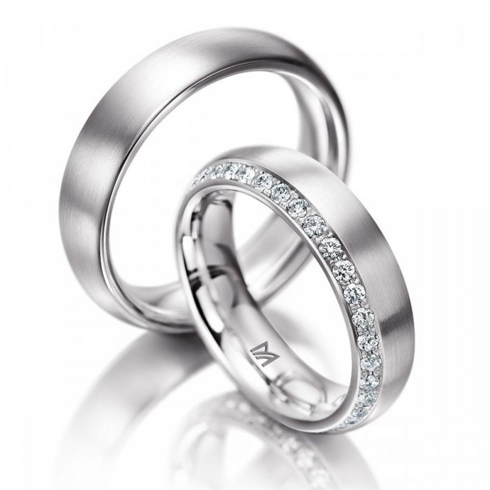 Ehering Meister Brillanten Platin | Juwelier Binder