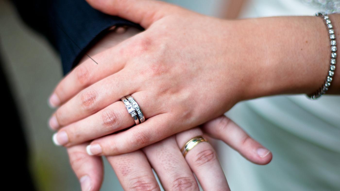 Ehering-Ringe, Die Mit Der Mischung Der Kultur Kommen