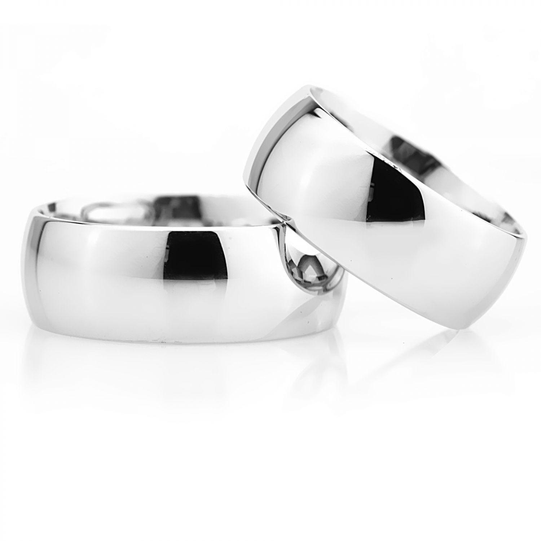 Eheringe Silber Breit Verlobungsringe K-1178A Eheringe