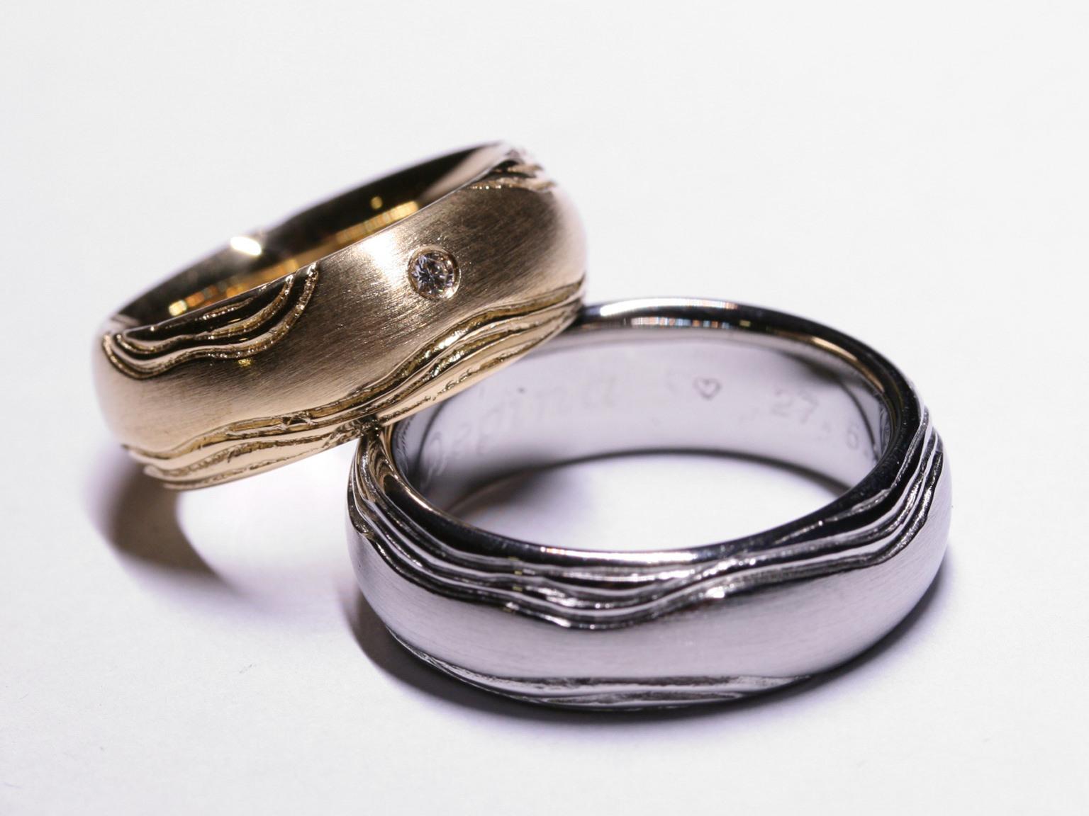 Eheringe St. Gallen - Handgefertigte Unikate In Gold, Silber