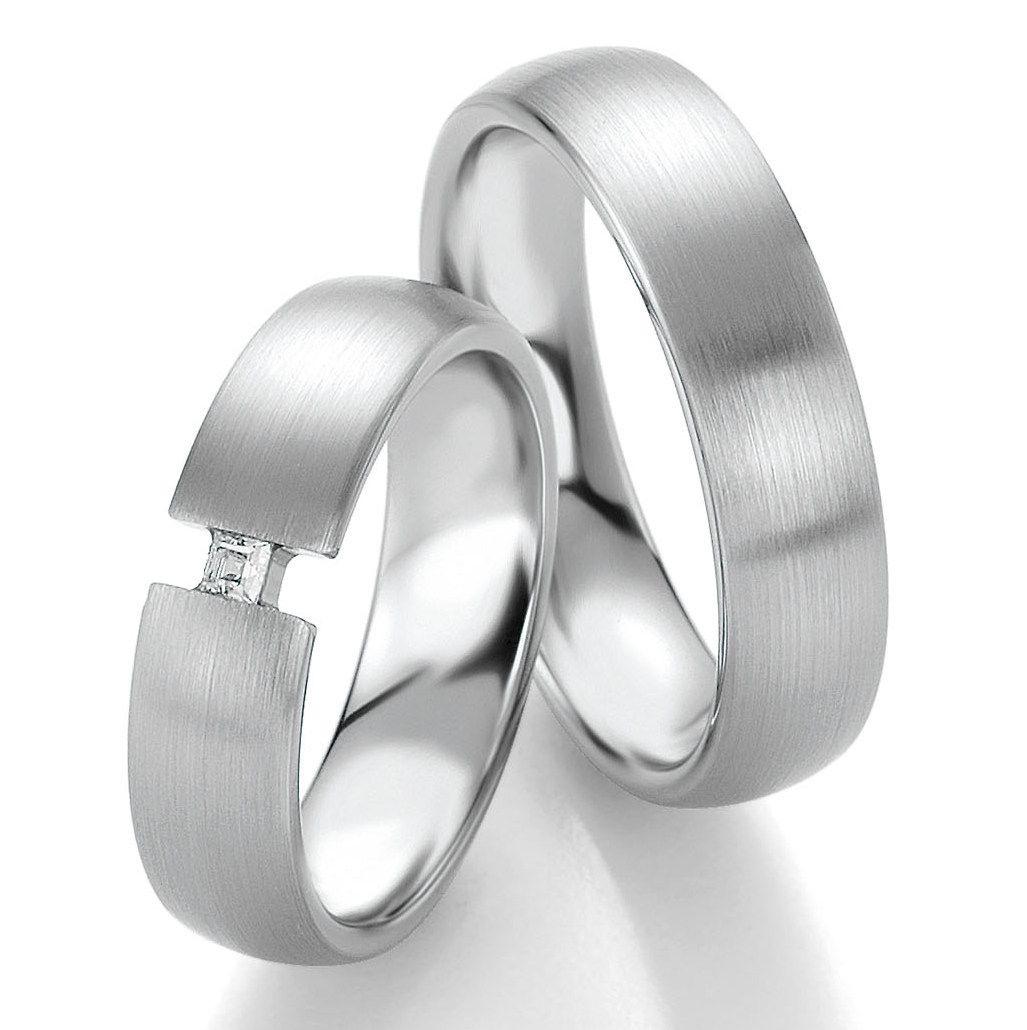 Eheringe Trauringe 950 Platin Breuning 48/09052 | Ring