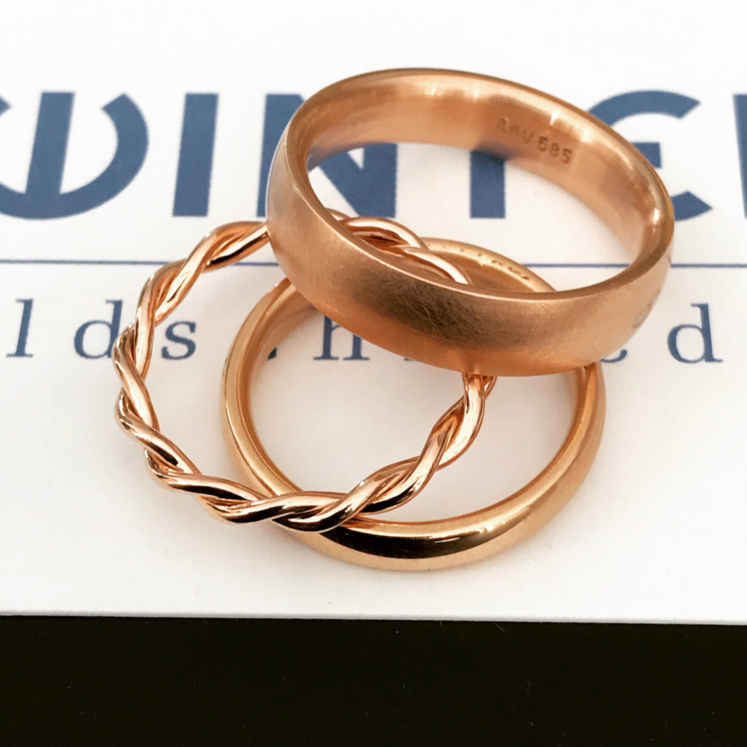 Eheringe & Verlobungsringe | Goldschmiede M. Winter