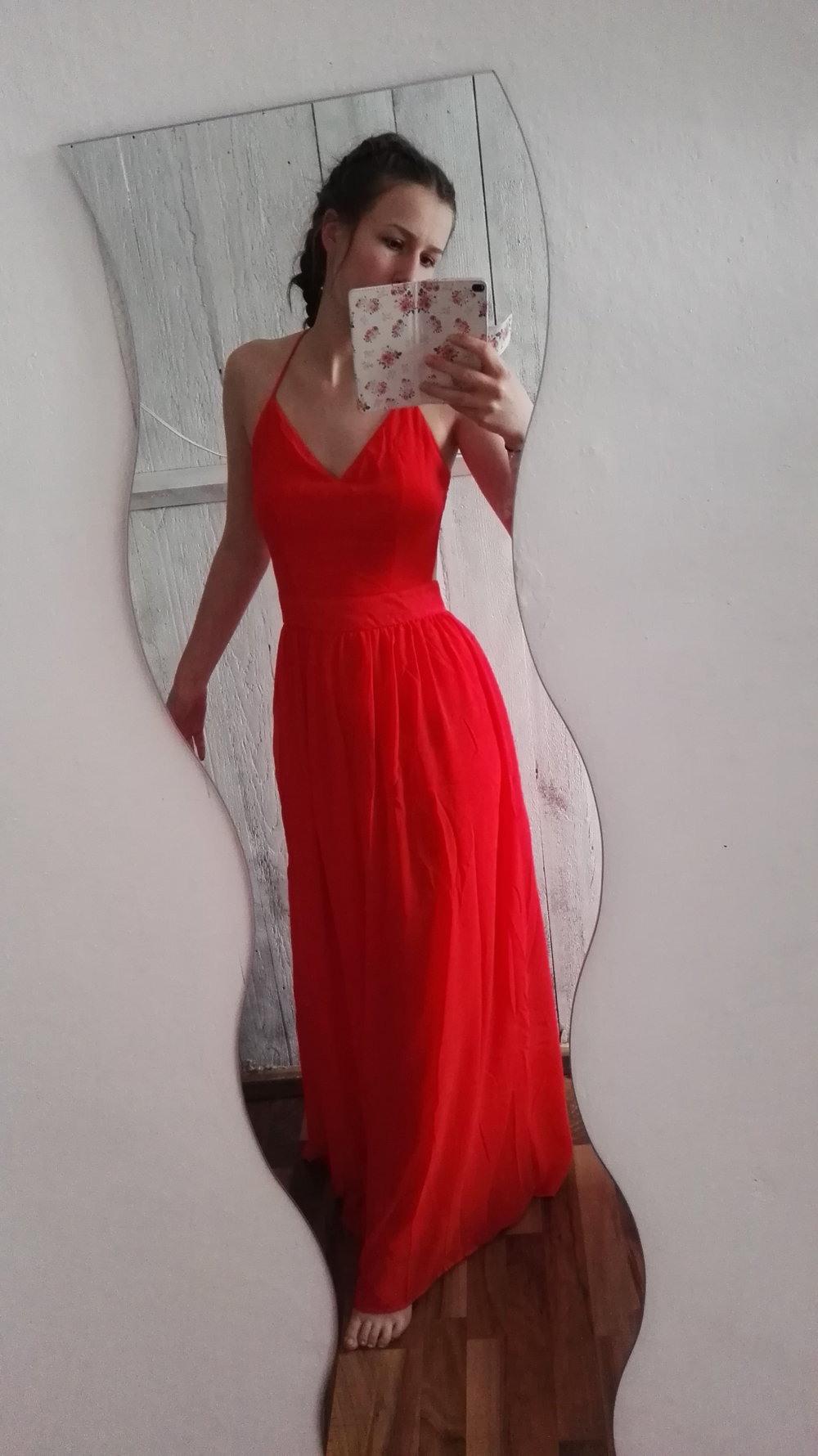 Schön Rote Abend Kleid ÄrmelFormal Leicht Rote Abend Kleid Boutique