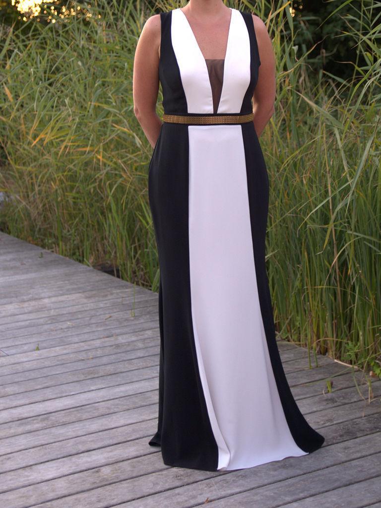 13 Luxus Abendkleid Schwarz Weiß Spezialgebiet15 Einzigartig Abendkleid Schwarz Weiß Vertrieb