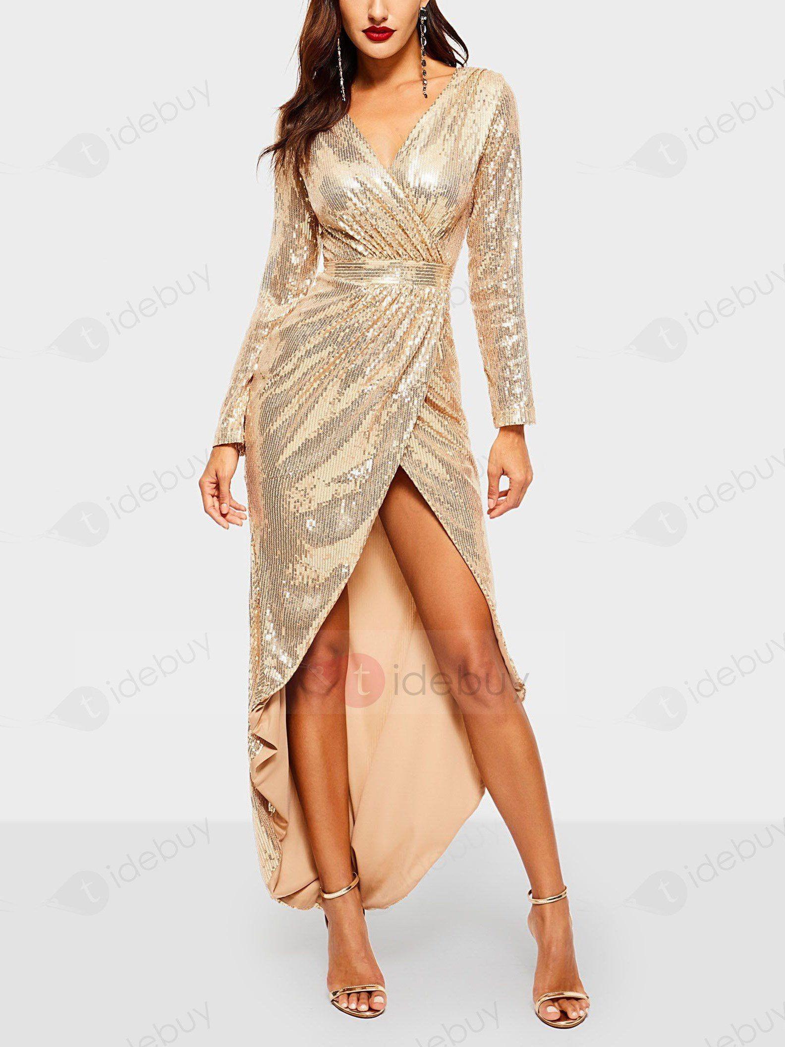 Abend Großartig Abendkleider Pailletten Damen Kleider Vertrieb20 Schön Abendkleider Pailletten Damen Kleider Design