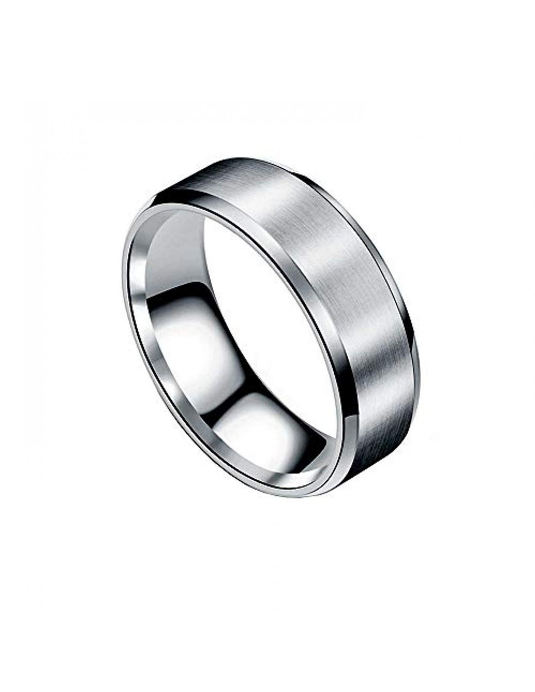 Elisimo - Unisex-Ring Aus Edelstahl - 8Mm Dick - Verlobungsring/ehering -  Für Männer Und Frauen, Kaufen Sie Für 12.99 In Unserem Shop Elisimo.de