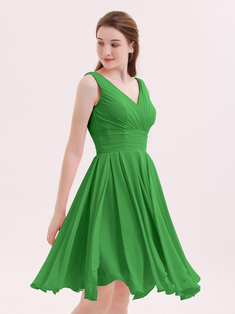 Cool Kleid Kurz Grün DesignFormal Cool Kleid Kurz Grün Stylish