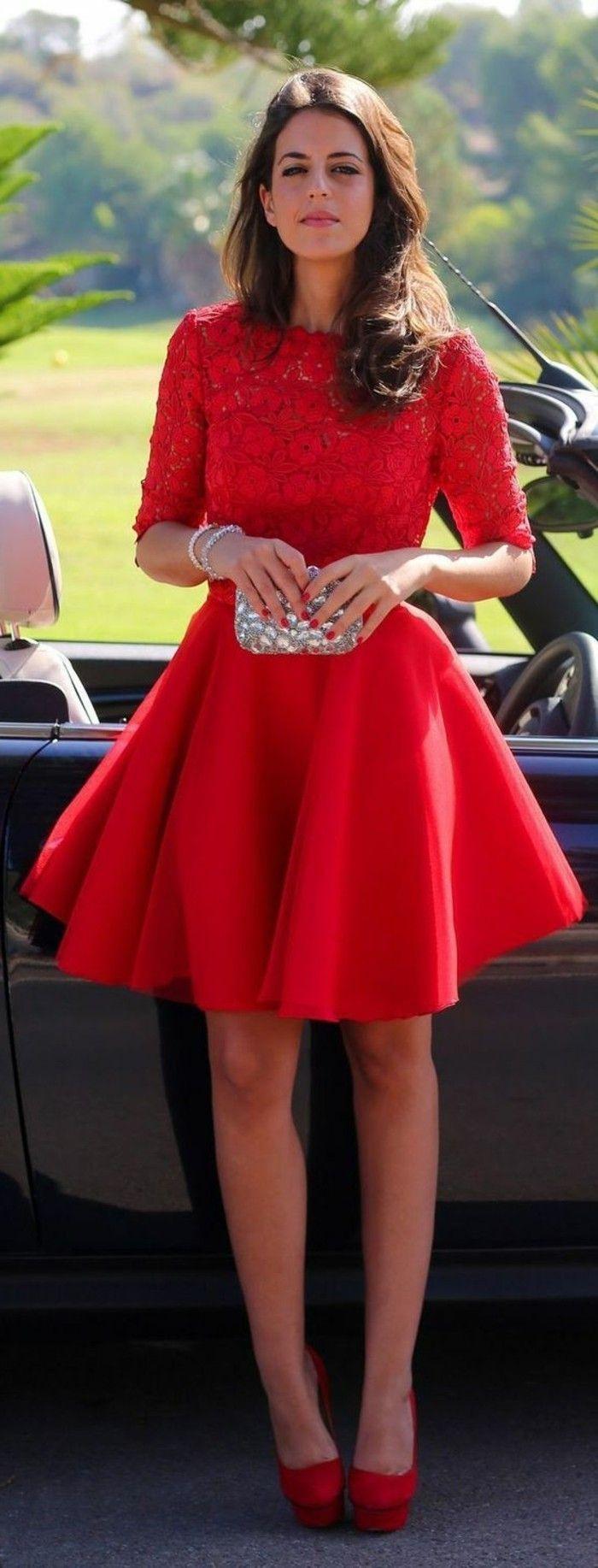 15 Fantastisch Rotes Kleid Kurz Spezialgebiet20 Schön Rotes Kleid Kurz Bester Preis