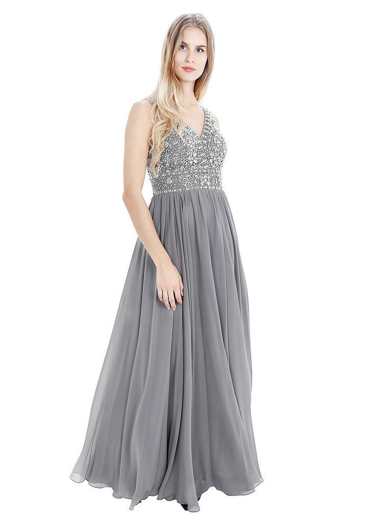 Abend Einzigartig Abendkleid In Grau ÄrmelDesigner Luxus Abendkleid In Grau Spezialgebiet