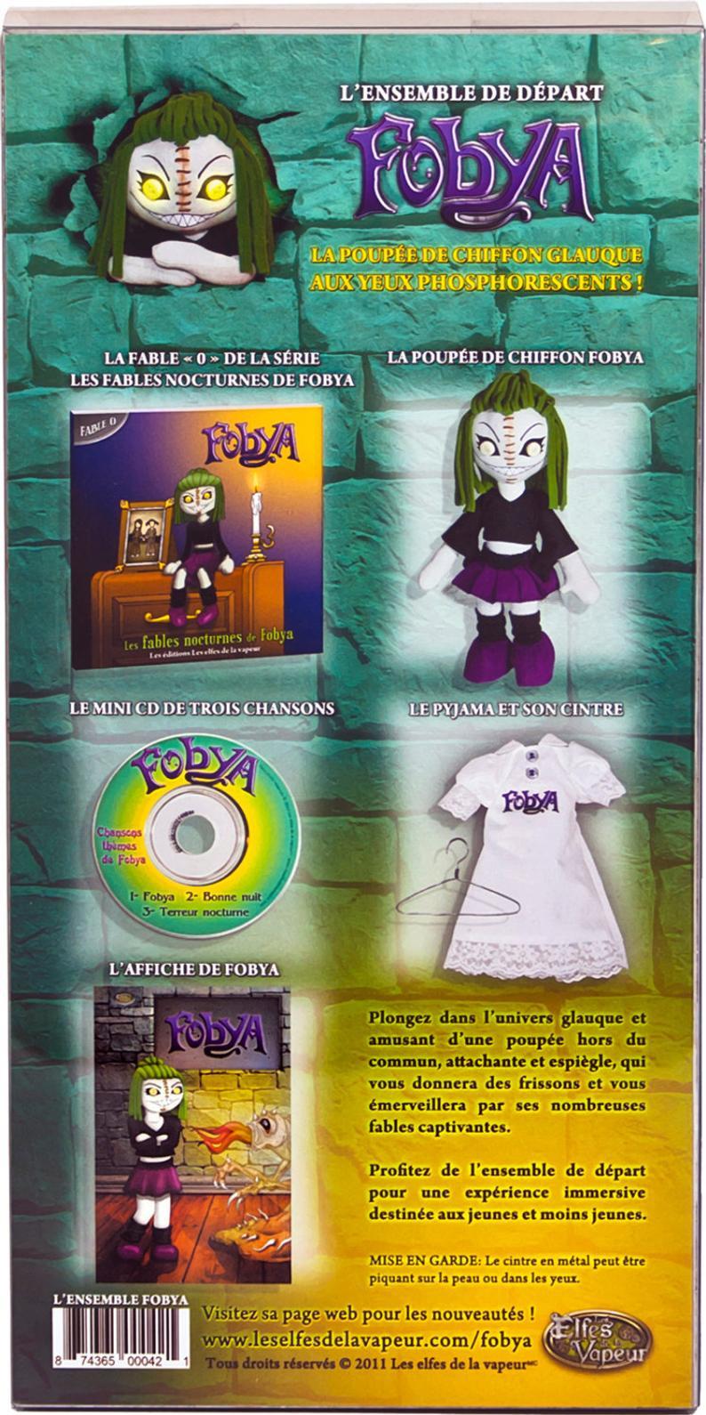 Fobya, Puppe Die Nächtliche Monster Hunter