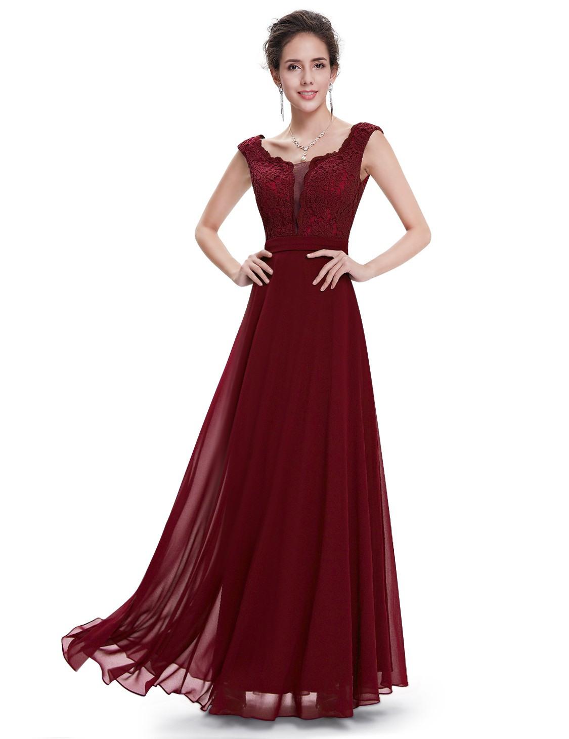 Formal Spektakulär Weinrotes Abendkleid VertriebFormal Perfekt Weinrotes Abendkleid Design