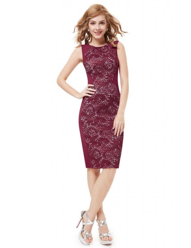 Formal Elegant Abendkleid Knielang für 2019 - Abendkleid