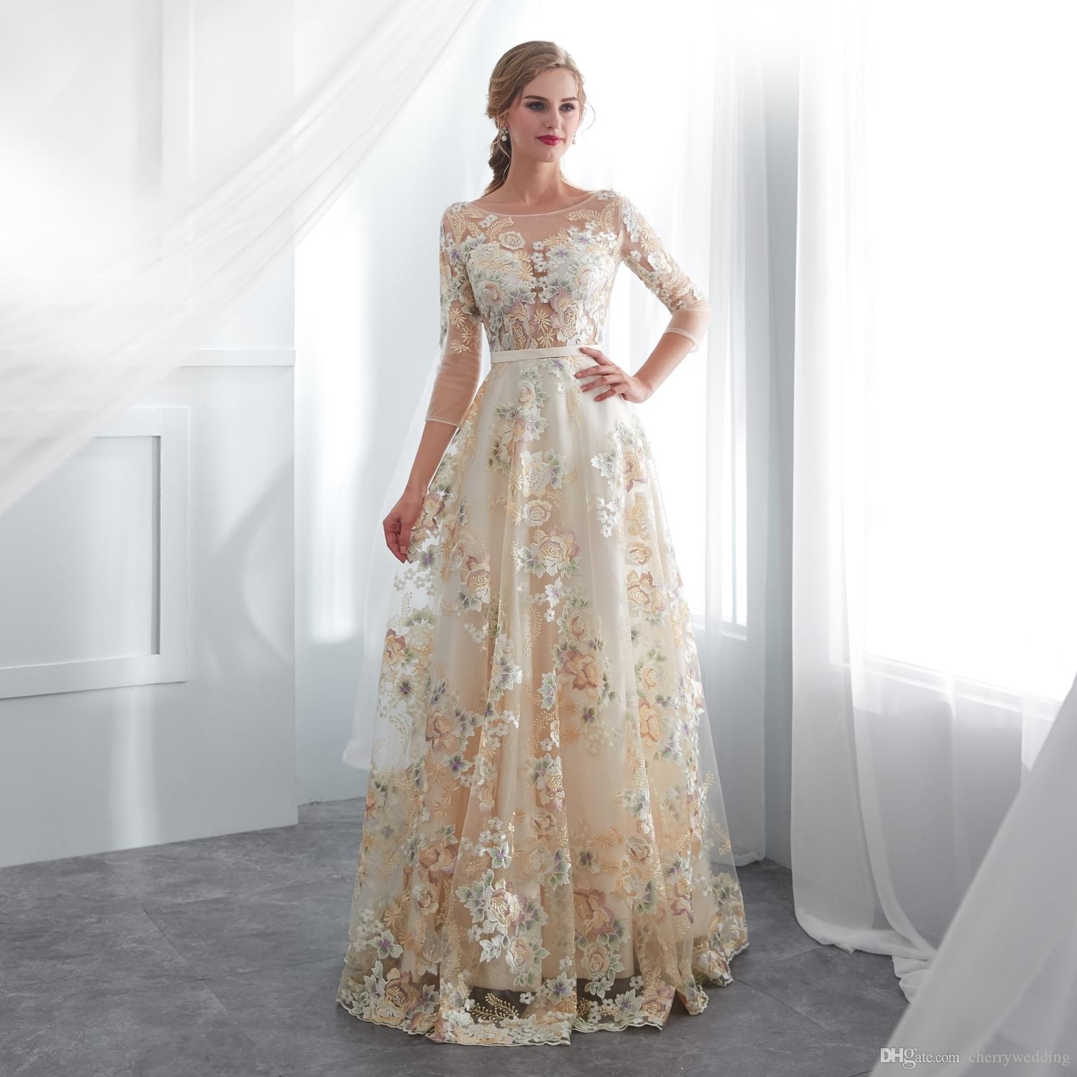15 Luxus Farbige Brautkleider Design17 Schön Farbige Brautkleider Boutique